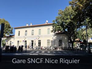 Gare SNCF Nice Riquier