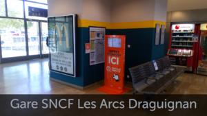 Gare SNCF les Arcs Draguignan