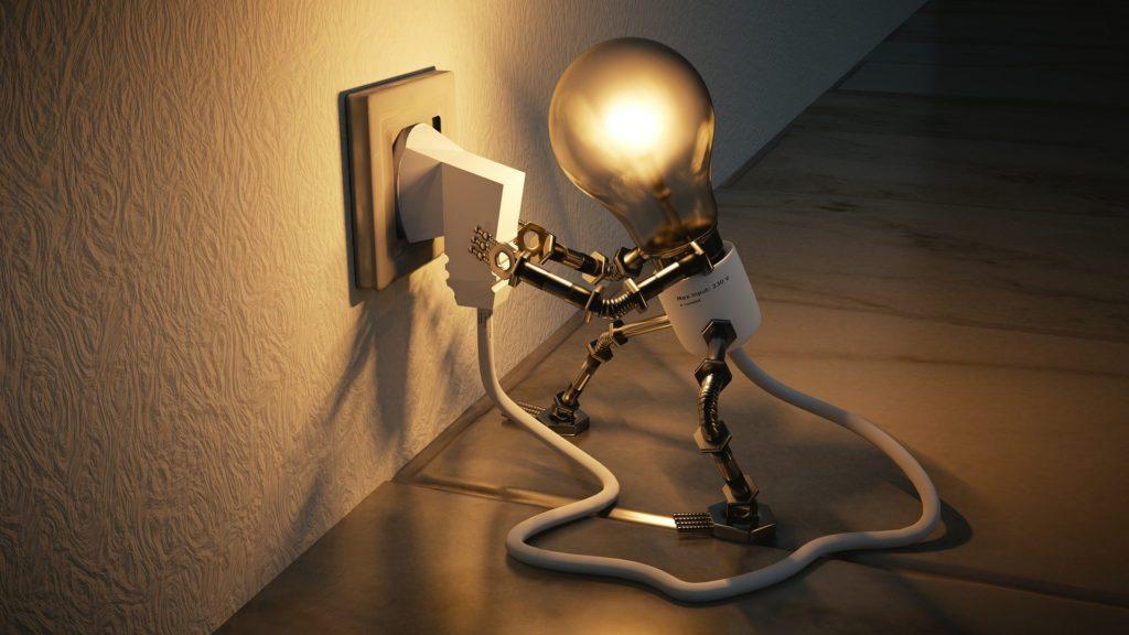 Ampoule qui se branche