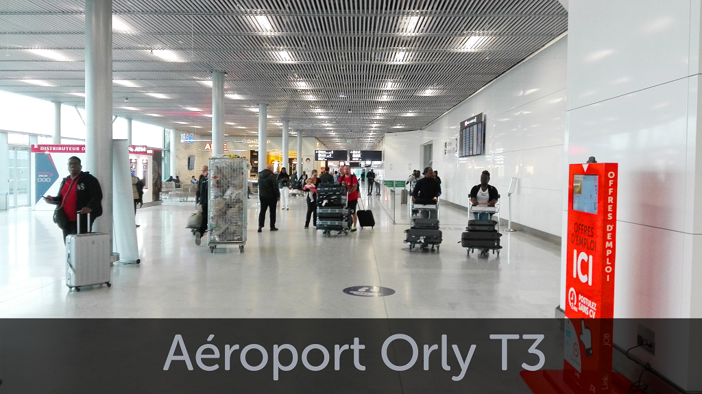 Emplacement Orly T3