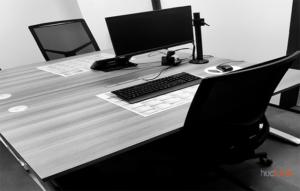 un bureau vide