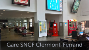 Gare SNCF Clermont Ferrand