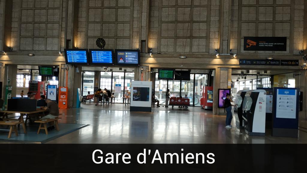 Borne gare SNCF le Havre