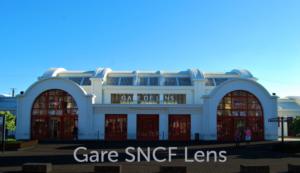 Façade gare SNCF Lens