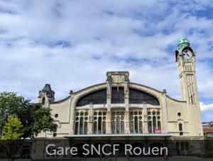 Façade gare SNCF Rouen