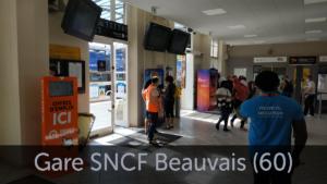 borne emploi gare sncf Beauvais