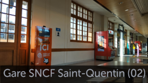 Borne emploi gare SNCF Saint Quentin