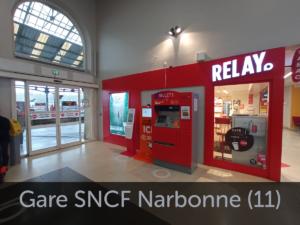 Borne emploi gare SNCF Narbonne
