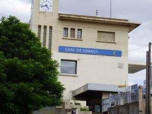 Facade gare de Drancy